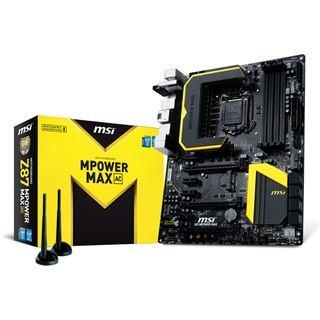 MSI Z87 MPower Max AC @mindstar - 119€