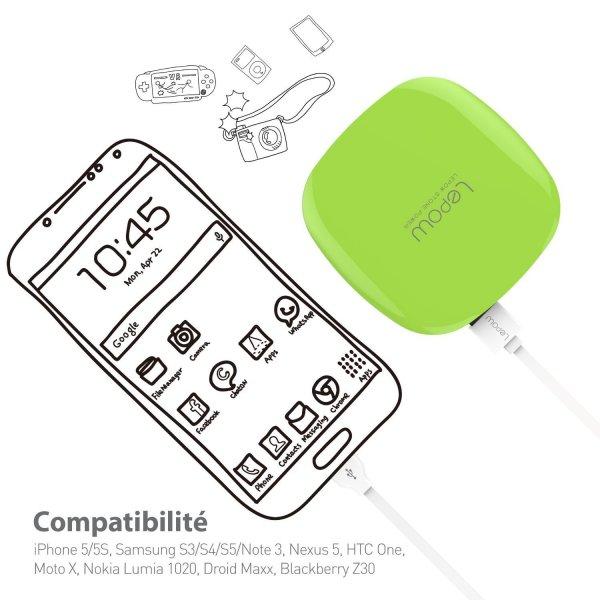Design Akkupack 18,90€ bzw. 25,9€ Versand durch amazon mit fünf Farbevarianten 3000mAh oder 6000mAh Li-Polymer Dual-USB