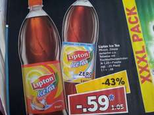 Lipton Ice Tea 1,25l @ LIDL Supersamstag