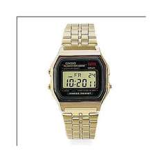 Casio Herrenuhr A159WGEA-1EF Collektion vergoldet