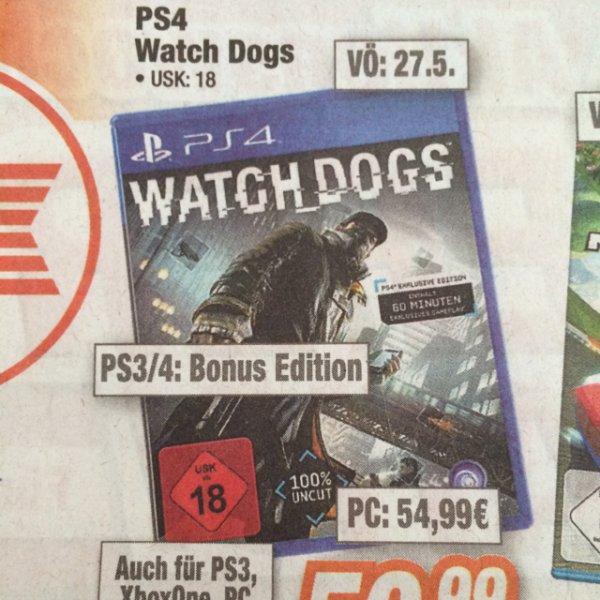Watch Dogs Bonus Edition für PS4 Lokal bei Expert Klein