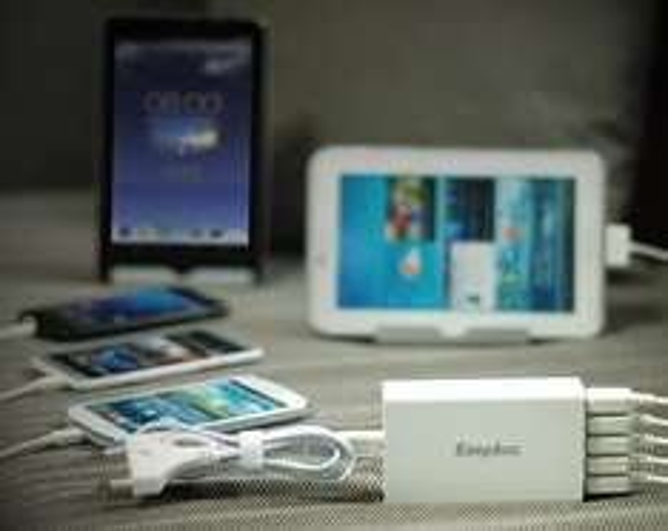 EasyAcc® 5-Port USB Ladegerät für 10,55 €