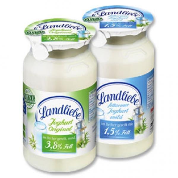 [Kaufland Bremerhaven] Landliebe Naturjoghurt durch Scondoo App mit 0,24€ Gewinn