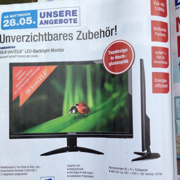Aldi-Nord 23,6Zoll TV für 119€