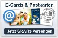 Gratis Postkarten mit eigenem Foto verschicken bei PrintPlanet.de