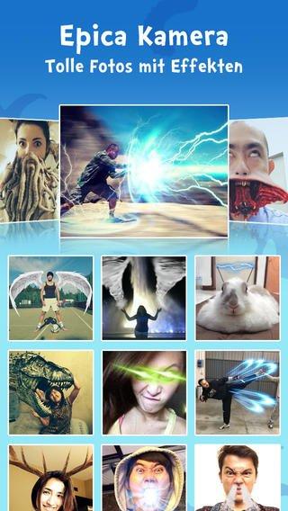 [iOS] Gratis In-App-Käufe im Wert von 4,45 € für die Foto-App Epica