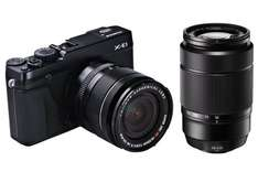 Fujifilm X-E1 Doppelzoom-Kit - Fujinon XF18-55mm F2.8-4 / XC50-230mm F4.5-6.7 @ Amazon.de EUR 700,42€ statt 749€