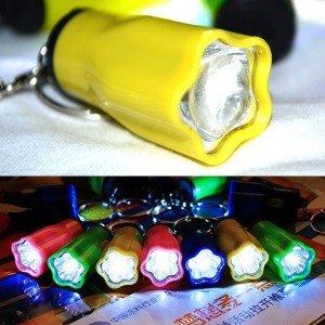 LED Taschenlampe als Schlüsselanhänger 0,01 € inkl. Versand aus China