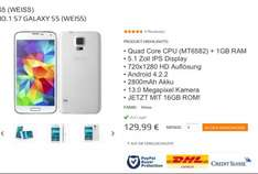 "NO.1 S7 Galaxy S5 5"" Smartphone"
