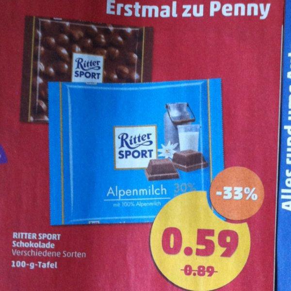 Rittersport Schokolade