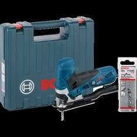 "Bosch Stichsäge-Set inkl. Koffer + Sägeblätter ""GST 90 E Professional"" für 109,90€ inkl. VSK@ZackZack"