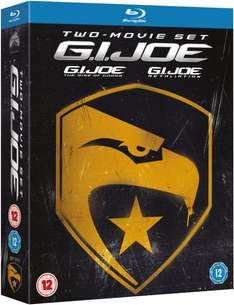 G.I Joe 1&2 Blu-ray Two Movie Set UK bei zavvi für 14,81€ inkl.deutscher Tonspur