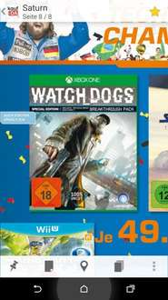 [Lokal] Saturn HH - Watch Dogs - Xbox One/PS4 - 49 €