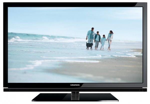 Grundig 40 VLE 830 BL 101,6 cm (40 Zoll) LED-Backlight-Fernseher, EEK B (Full HD, 100 Hz PPR, DVB-T/C/S2, CI+, SmartTV) schwarz 299,99€@amazon