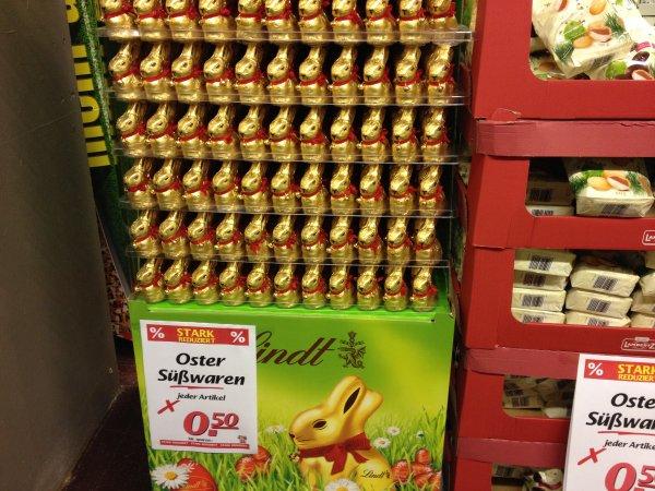[Marktkauf Lokal Frechen] Ostersüßigkeiten für 0,50 €