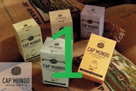 120 Kompatible Kaffee Kapseln für Nespresso Maschinen