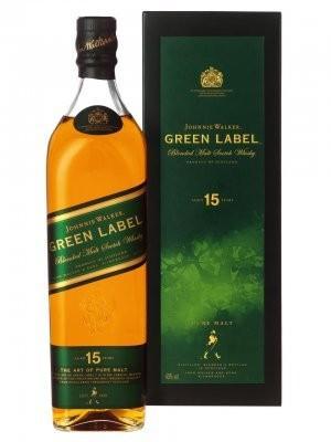 Johnny Walker Green Label 1,0l bei Heinemann Duty-Free-Shops für € 30.90