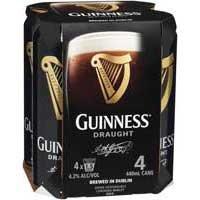 24x Guinness Draught 0,44l  + 6x Lipton Ice Tea Sparkling Peach 1,25l für 41,60€ (inkl. 7,50€ Pfand)