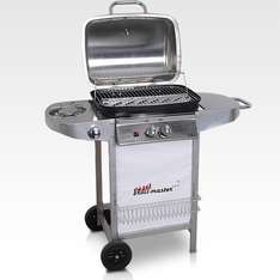 BBQ Gasgrill Edelstahl mit Temperaturanzeiger [ebay WOW]