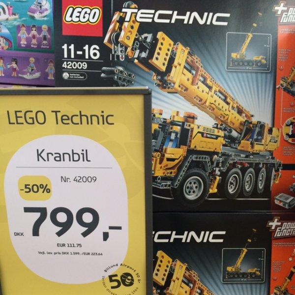 [lokal] Lego Kran Nr.42009