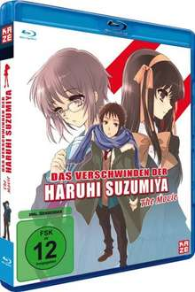 Das Verschwinden der Haruhi Suzumiya - The Movie (Blu-ray) auf Amazon ab 11,97€