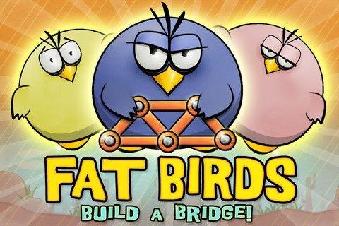 [IOS]Fette Vögel bauen eine Brücke!! HD gratis