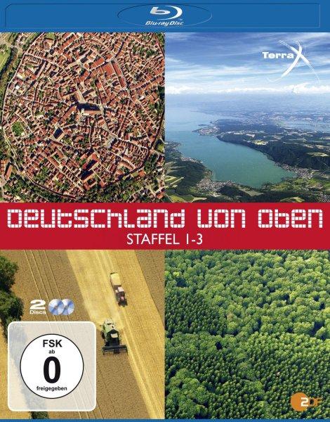 [AMAZON] Deutschland von oben - Staffel 1-3 [Blu-ray] 12,97€