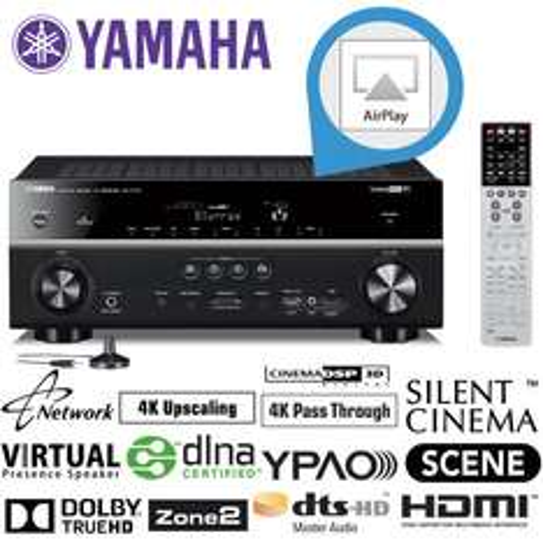 Yamaha RX-V773 für 378,90€@ iBood - 7.2 AV-Receiver mit Airplay, 4K etc.