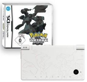 Nintendo DSi Konsole Weiß + Pokemon Weiße Edition
