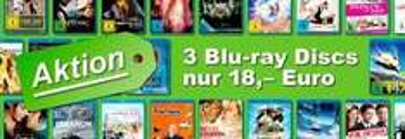 3 Blu-ray Discs für 18€ @JPC