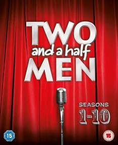 Two and a Half Men - Season 1-10 [DVD] (OT) für 59€ @Amazon.co.uk