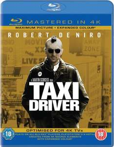 Taxi Driver, Ghostbusters & Total Recall - Mastered in 4K Edition [Blu-ray+UV Copy] (OT) für je 8,75 € inkl. Vsk.