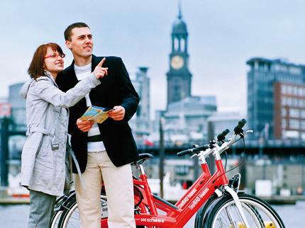 StadtRad Hamburg mit 60 statt 30 Freiminuten je Fahrt