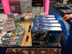 [Lokal Saturn Darmstadt] Sony Playstation 4 inkl. Watch Dogs
