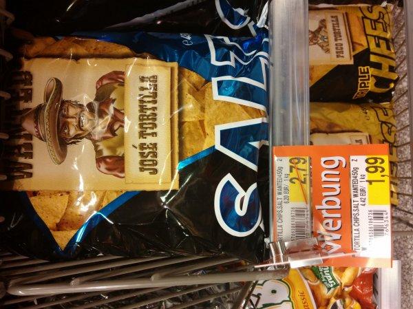 Tortilla Chips Wanted 450g Packung 1,99 EUR - div Sorten - Lokal famila Nordost