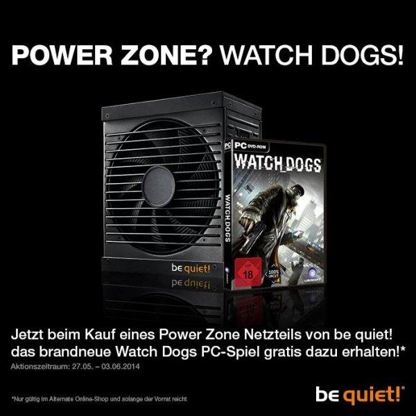 be quiet! POWER ZONE NT kaufen + Watch Dogs 4free @Alternate