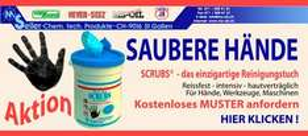 GRATIS-MUSTER Scrubs®-Reinigungstuch