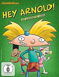[Saturn AT] - Komplett DVD-Box Hey Arnold! mit 12 DVD