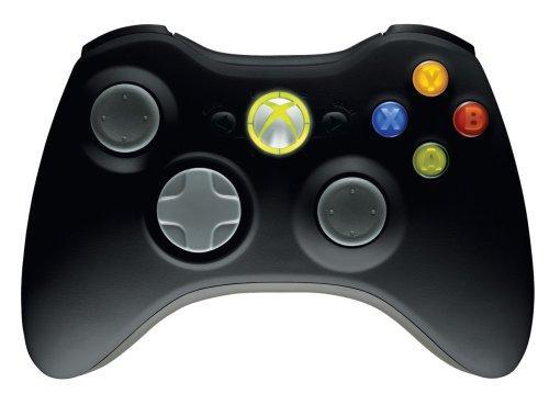 Xbox 360 Controller (Schwarz) für rund 19€ @ thehut.com