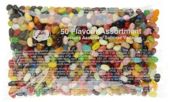 Jelly Belly Beans 50 Sorten-Mischung - 1kg @amazon.de