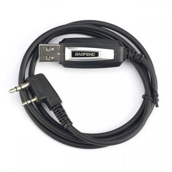 $5.99 USB-Programmierkabel + CD für BAOFENG UV-5R/UV-5RA/UV-5RE / UV-5R + / UV-3R + / BF-888s/UV-82L/GT-3 (Neueste Version, Unterstützung WIN7)