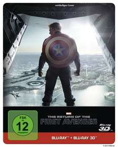 """Captain America: The Return of the First Avenger"" 3D Steelbook für 21,99€ vorbestellen"