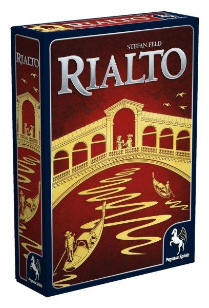 Pegasus Spiele - Rialto für 17,99€ (Neukunden für 14,99€) inkl. Versand (Idealo 29,40€)