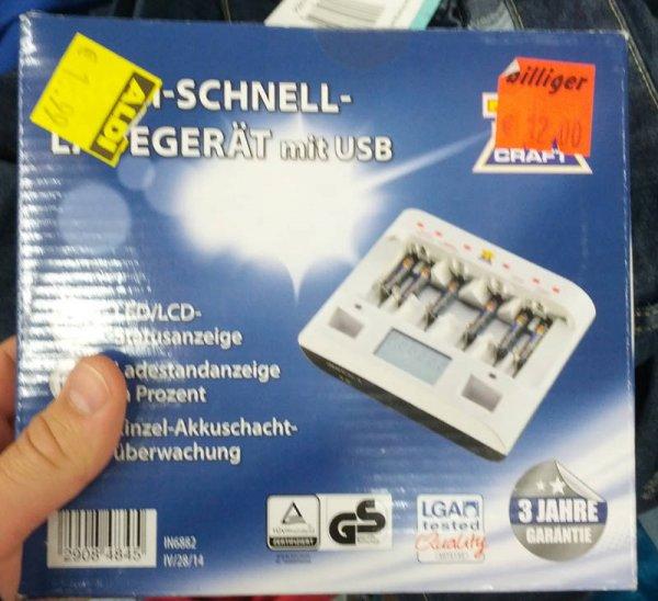 [Lokal Paderborn] Top Craft Akku-Schnell-Ladegerät, Einzelstück