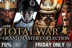 Total War: Grand Master Collection 46,66€ (Steam)  @HumbleStore