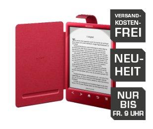 SONY PRST-3RSCWLAI (PRS-T3 in rot) + LICHTCOVER für 99€