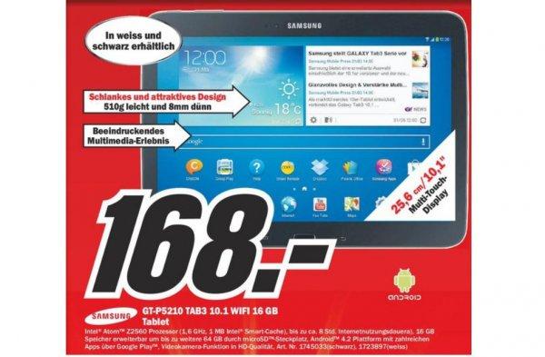 (Media Markt Offline ) Samsung Galaxy Tab 3 GT-P5210  Wifi 10.1 16GB Gründau Lieblos 63584 + Ab 100€ ComBinho Kostenlos
