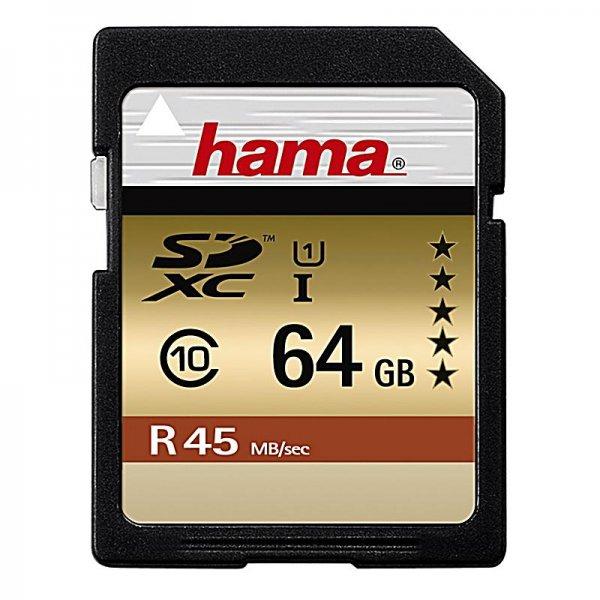 HAMA SDXC 64GB Class 10 @ Saturn.de ab EUR 25,00