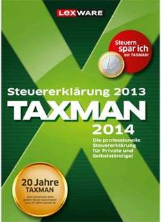 Lexware TAXMAN-Steuersoftware 2014 über Focus Money gratis downloaden