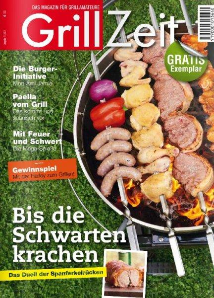 """Die letzten 12 Ausgaben des Magazins """"Grill Zeit"""" kostenlos online lesen"""